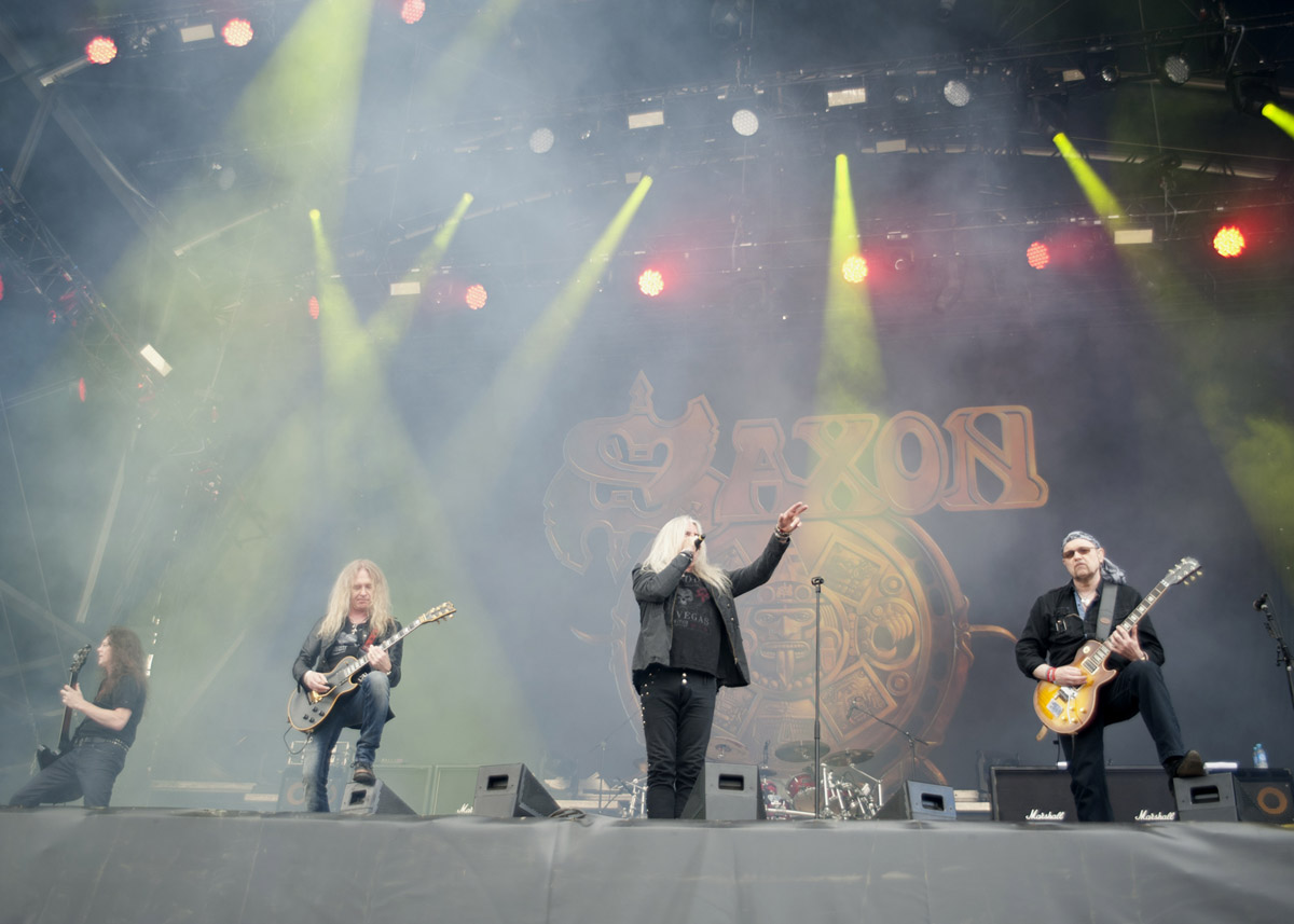 Saxon at Hellfest 2013