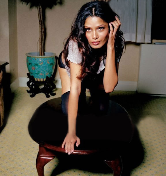 Freida Pinto Picture, Rise of the Apes
