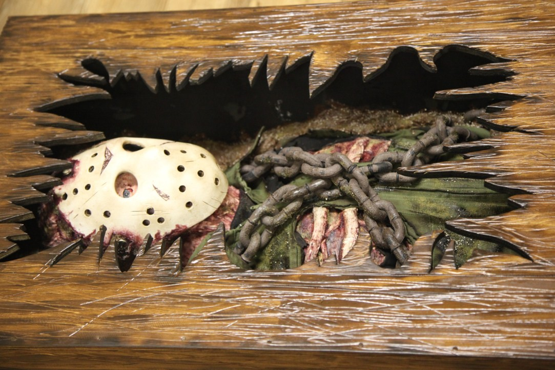 Friday the 13th Custom Coffee Table