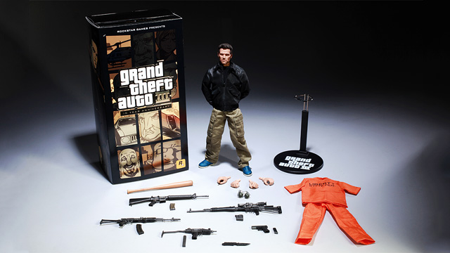 GTA 3 - Claude Action Figure Picture