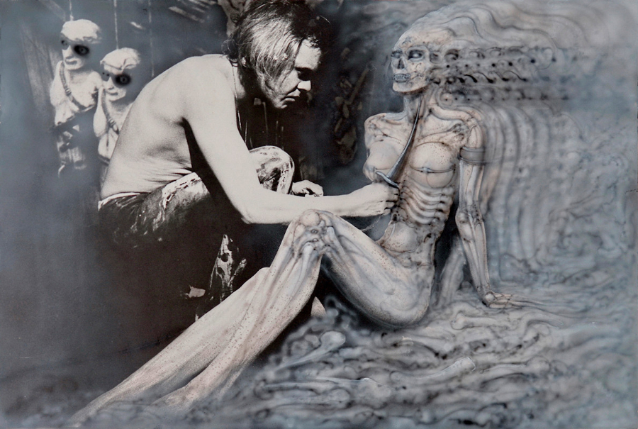 H.R. Giger Artwork