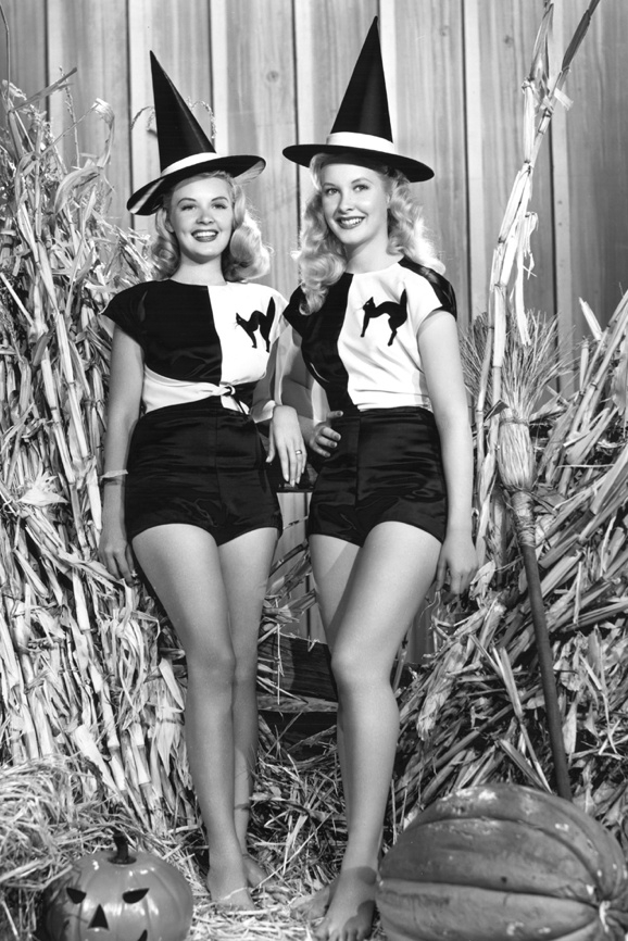 Penny Edwards and Barbara Bates - 1949