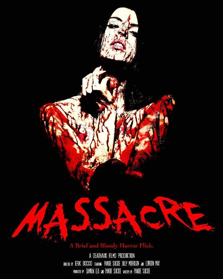 Massacre - January 2015, poster