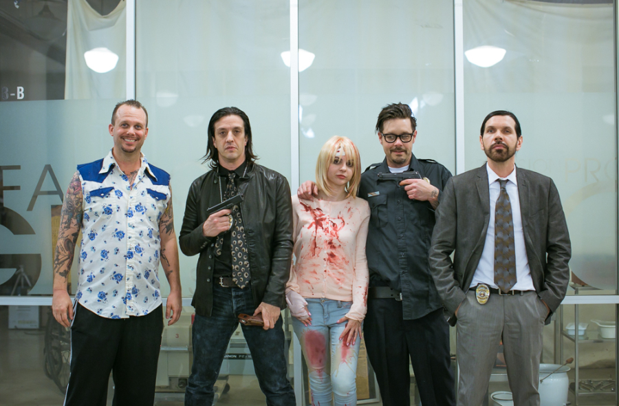 Jeff Hilliard, Jeordie White, Pandie Suicide, Rob Patterson, London May