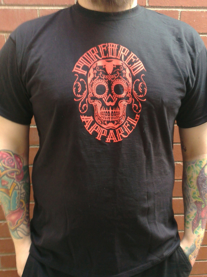 Purebred Apparel - Candy Skull Tee