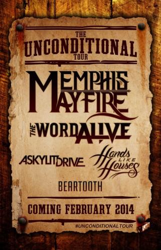 a skylit drive tour poster