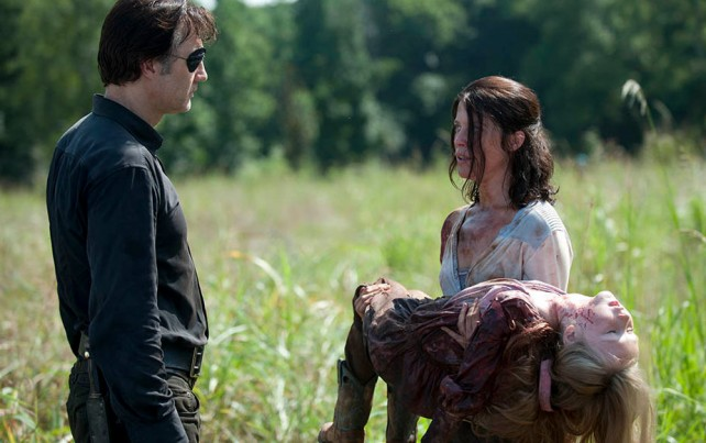 governor and lilly with dead daughter