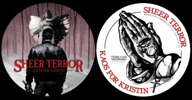 sheer terror - kaos for kristin disc