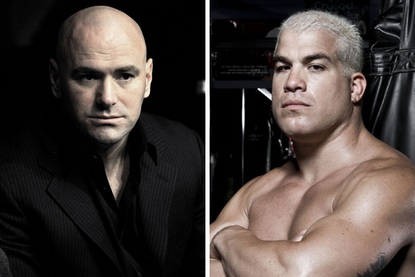 Dana White and Tito Ortiz