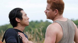 the walking dead season 4 - glenn and ford