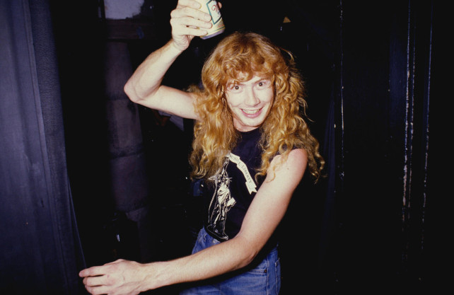 drunk dave mustaine