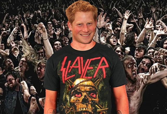 Prince Harry - Heavy Metal