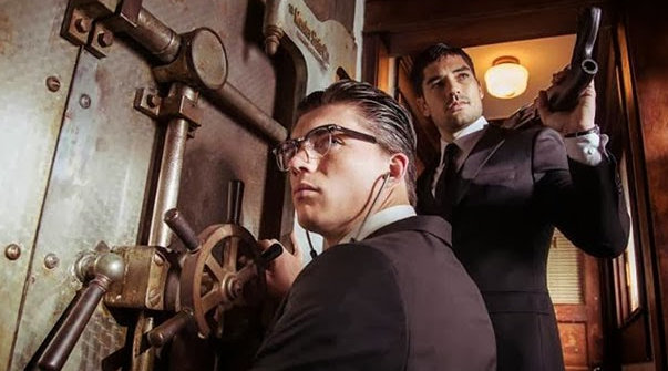 from dusk till dawn - bank heist