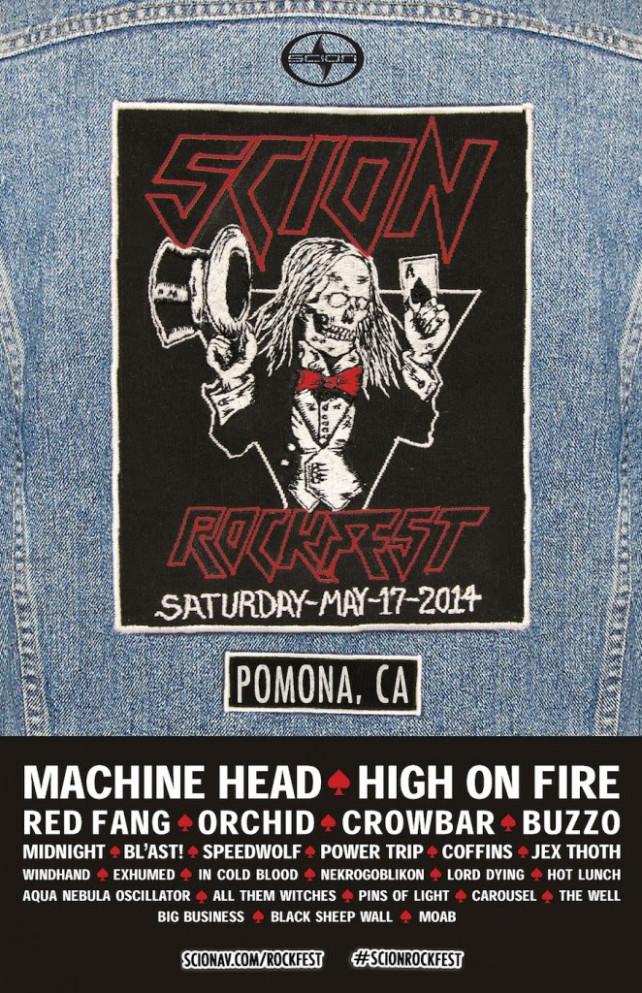 scion rockfest 2014