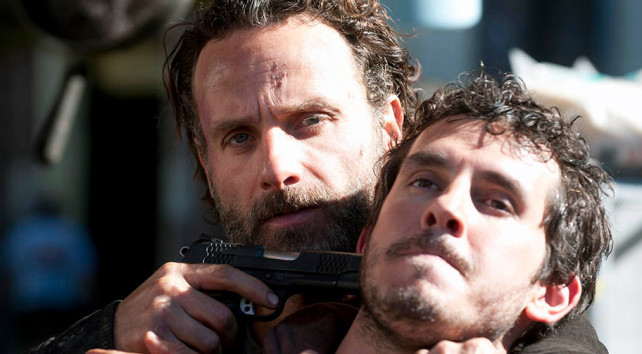 the walking dead - season 4 - rick and alex