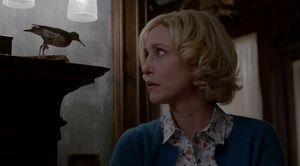 bates motel - metldown - norma stares at bird