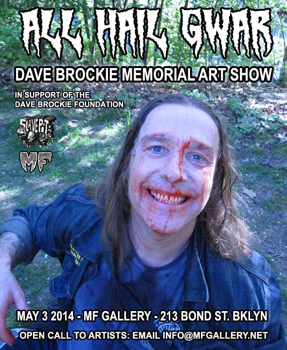 dave brockie art show