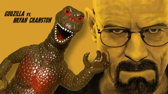 Godzilla vs. Bryan Cranston