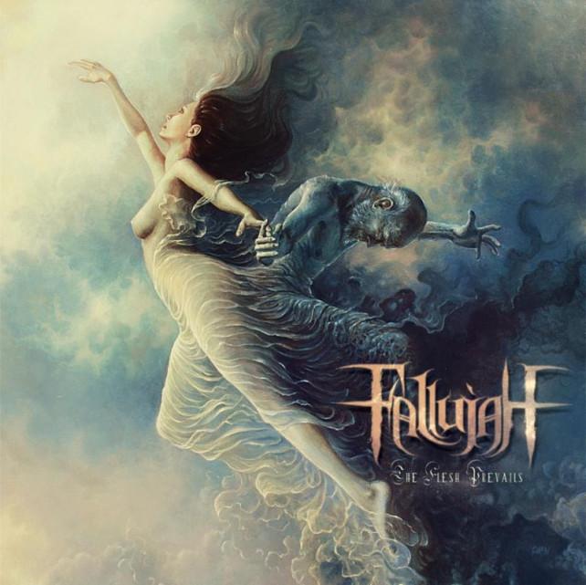 fallujah - the flesh prevails - album cover