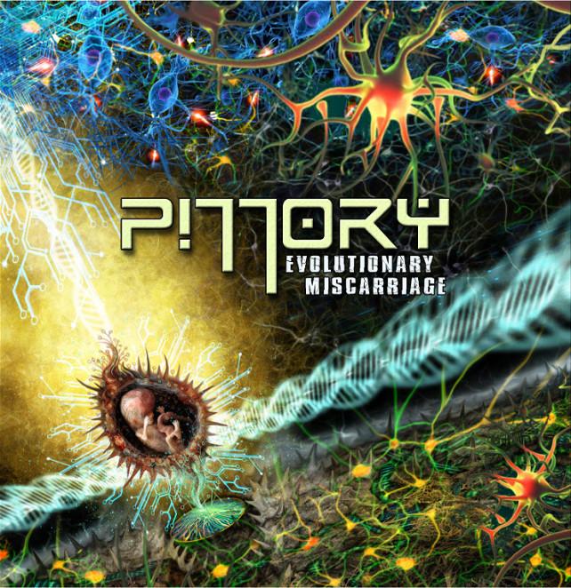 pillory evolutionary miscarriage - album cover