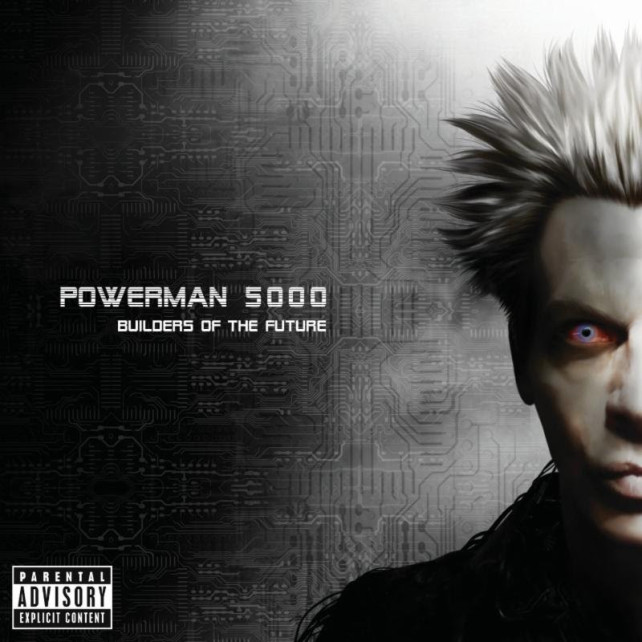powerman 5000 - builders of the future cover