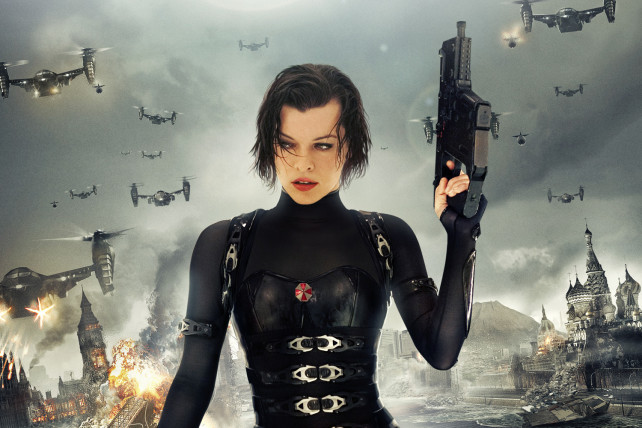 milla jovovich - resident evil the final chapter