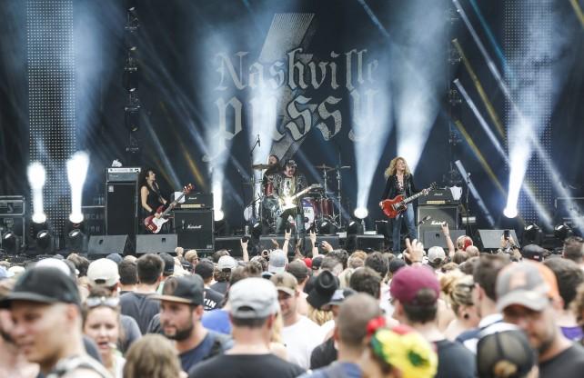 Nashville Pussy Heavy Montreal 2014 Photo by Eva Blue