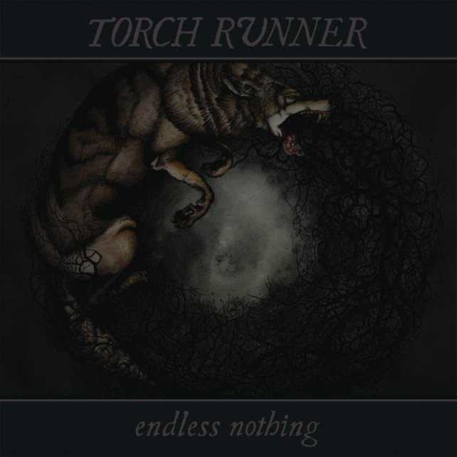 torch runner - endless violence album cover