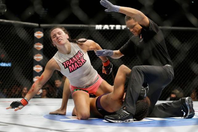 UFC 178 - Cat Zingano