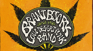 BRANT BJORK AND THE LOW DESERT PUNK BAND - black power flower cover art