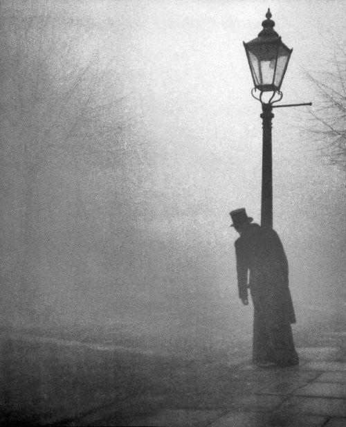 man in london fog