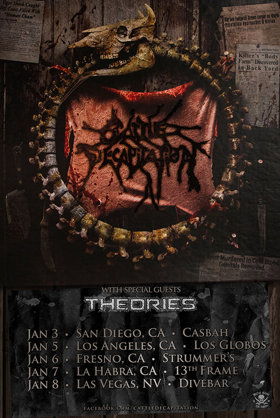 Cattle Decapitation Final Monolith of Humanity Shows