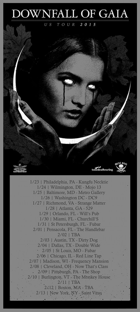 downfall of gaia us tour 2015