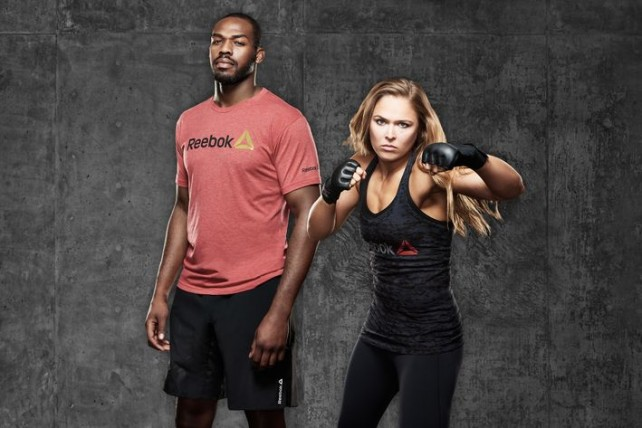Reebok - Ronda Rousey, Jon Jones
