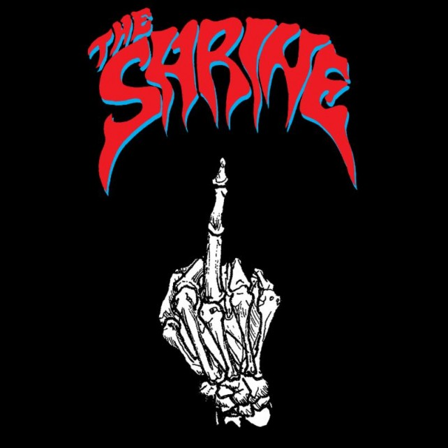 the shrine - waiting for the war - album cover