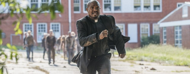 the walking dead, season 5 - running gabriel