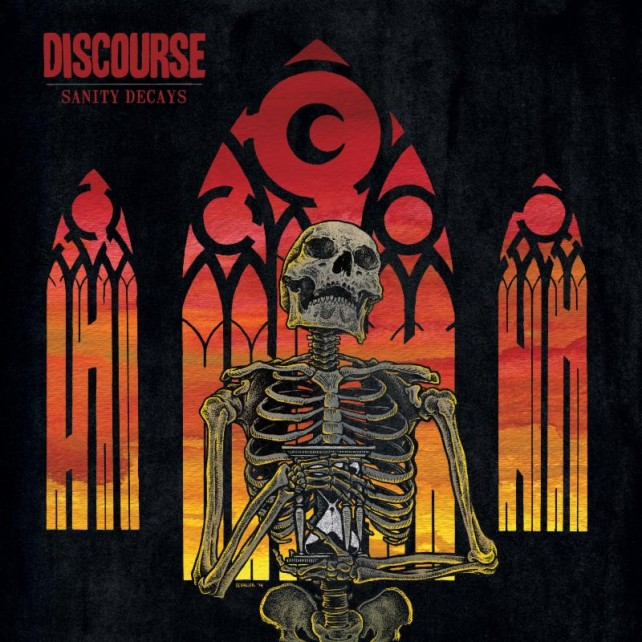 discourse - sanity decays - album cover
