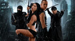 ninjas vs monsters - poster