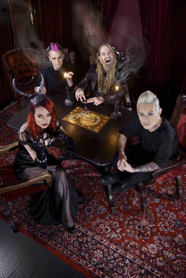 coal chamber - 2015 band pic