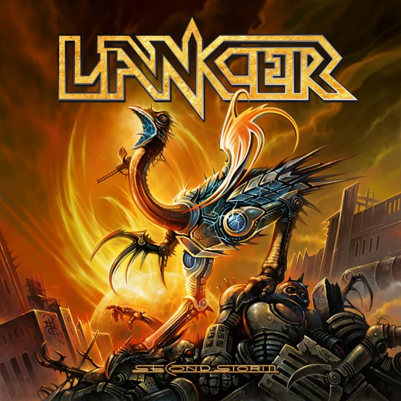 lancer - second storm - album cover