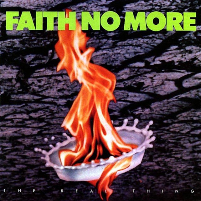 faith no more - the real thing - album cover