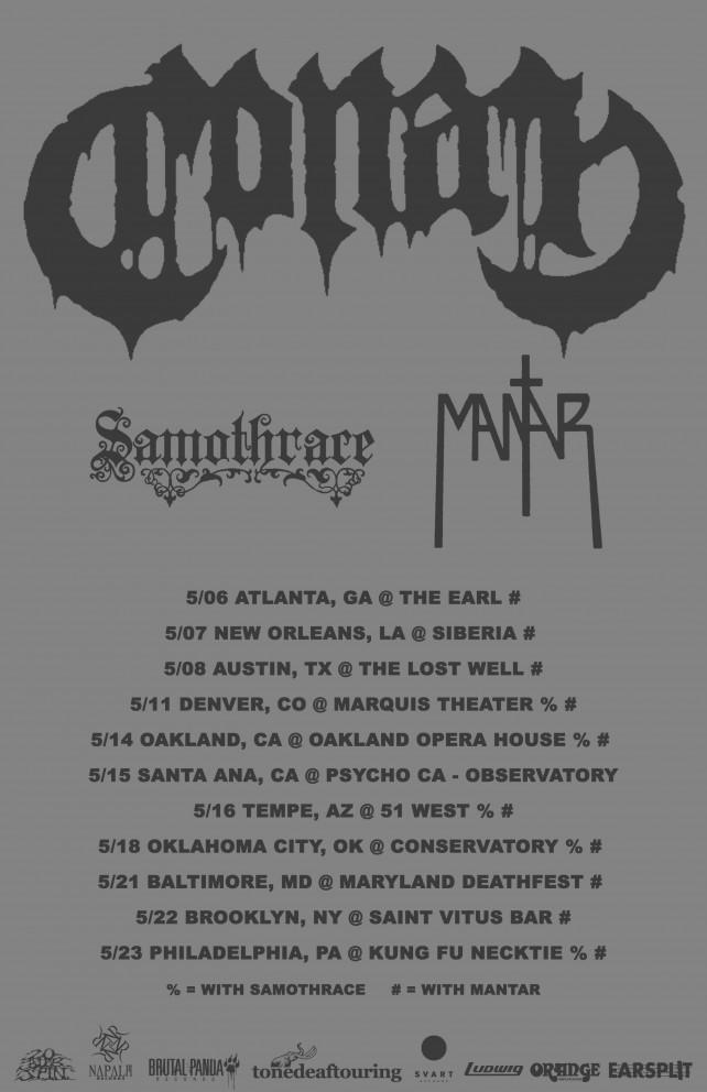 conan 2015 tour poster