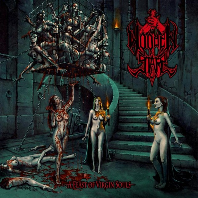 wooden stake - a feast of virgin souls - album cover