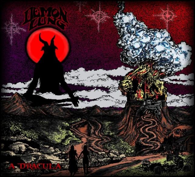 Demon Lung - A Dracula - album cover