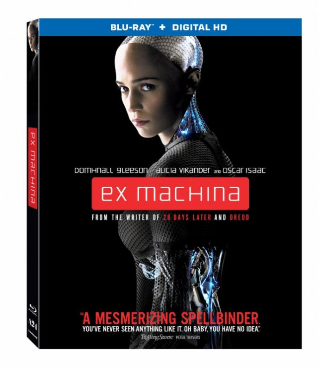 Ex Machina Blu-ray Cover