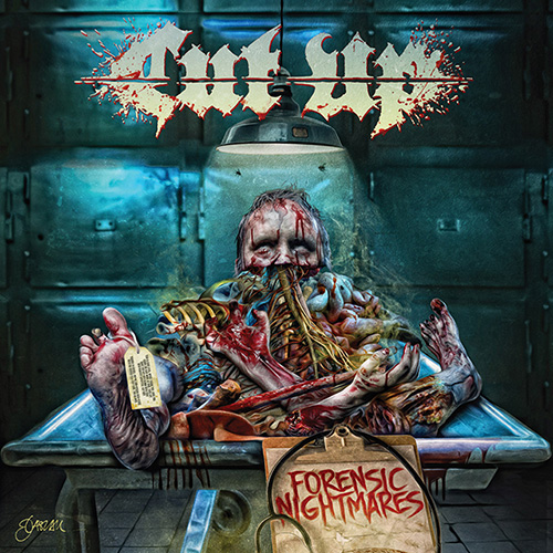 cut up - forensic nightmares - album cover