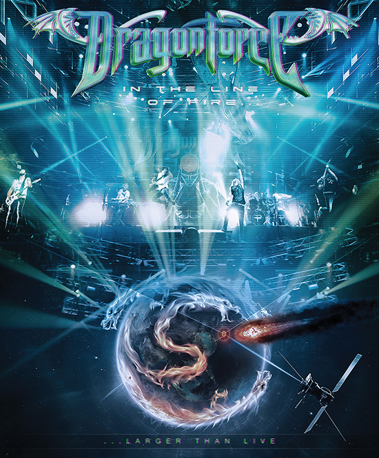 dragonforce - in the line of fire- dvd cover