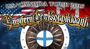 ensiferum 2015 tour poster