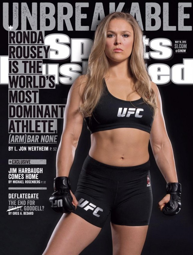 Ronda Rousey - Sports Illustrated
