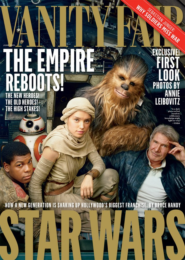 star wars - vanity fair cover